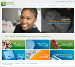 New Network Solutions Site