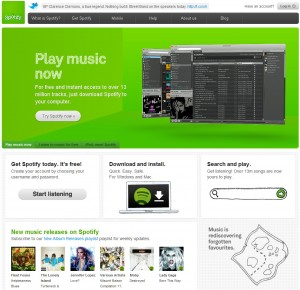 Spotify adopts WordPress