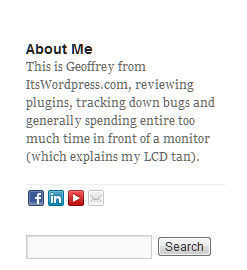 About Me Plugin