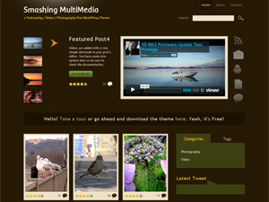 Smashing MultiMedia Theme